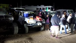 Night of the best equipped Jeep Contest