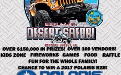 55th Annual Desert Safari Hosted by Tierra Del Sol
